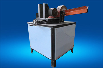 wood round stick sanding machine